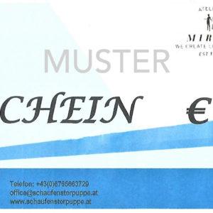 Gutschein €10,-